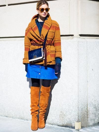 womens-fashion-inspiration-orange-suede-camel-stripes