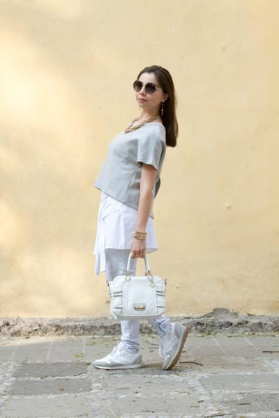 womens-fashion-outfit-white-grey-chains-chic-sunglasses