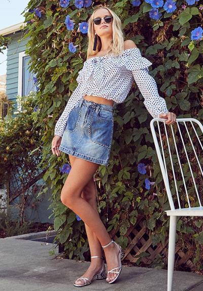womens-fashion-ideas-polka-dots-denim