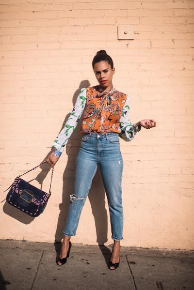 womens-fashion-ootd-denim-prints