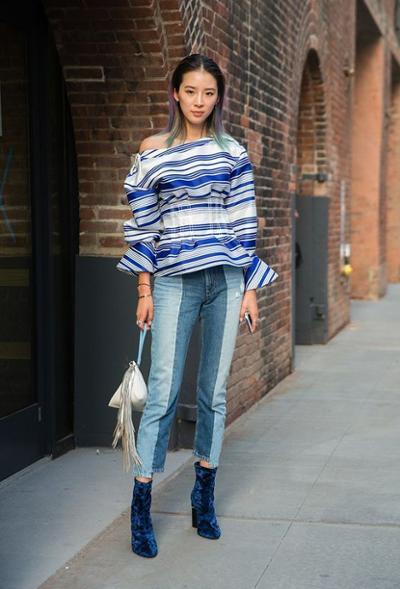 womens-fashion-inspiration-denim-stripes