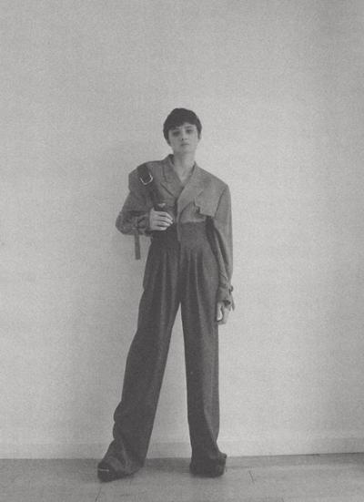 womens-fashion-ootd-black-grey-masculine-flared-pants