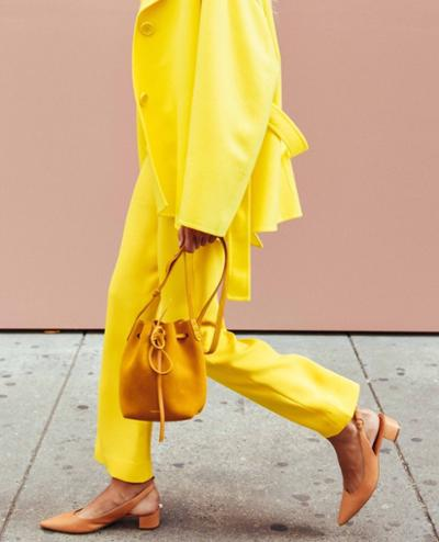 womens-style-inspiration-yellow-leather-light-coats-camel