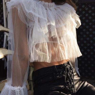 womens-style-inspiration-leather-lace-ruffles-black-and-white