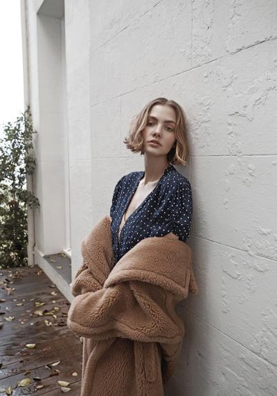 womens-fashion-ideas-polka-dots-winter-coats