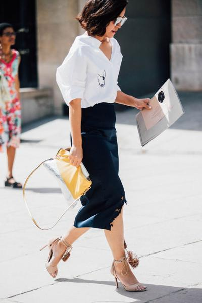 womens-fashion-outfit-yellow-black-all-white-all-black