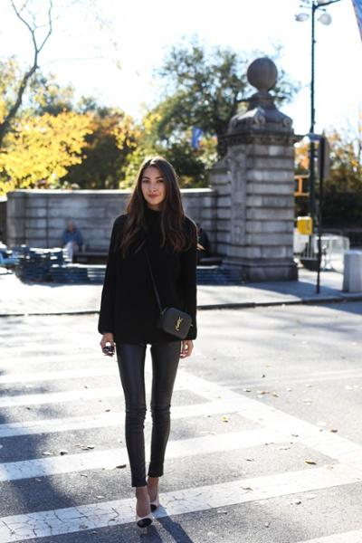 womens-fashion-look-leather-all-black