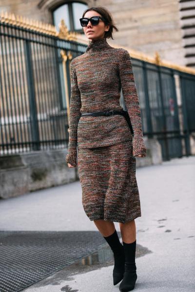 womens-fashion-ootd-black-beige-wool