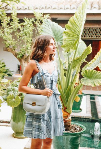 womens-fashion-ootd-blue-prints-stripes