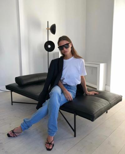 womens-style-inspiration-denim-black-and-white-chic-sunglasses