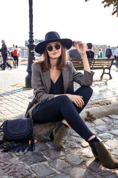 womens-fashion-outfit-black-masculine-fedora-hats-chic-sunglasses