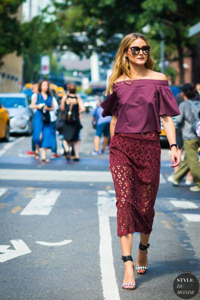 womens-fashion-outfit-lace-burgundy-chic-sunglasses-long-skirts