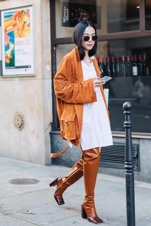 womens-fashion-photography-orange-tall-boots-chic-sunglasses