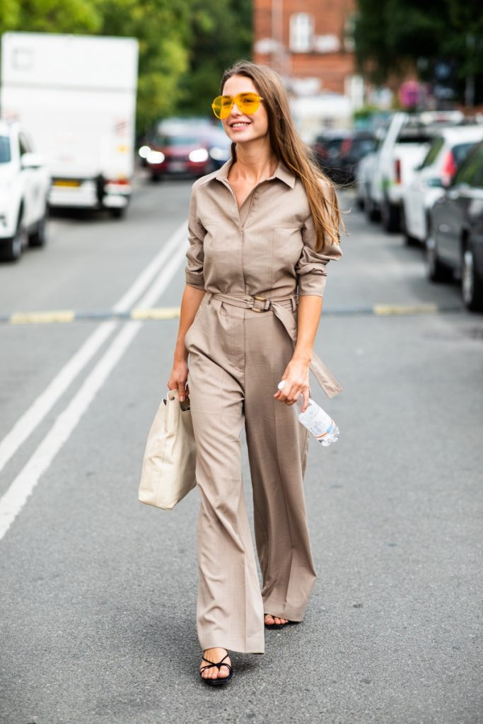 womens-fashion-outfit-khaki-one-color-chic-sunglasses