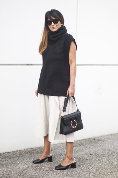 womens-fashion-look-culottes-black-and-white-turtlenecks