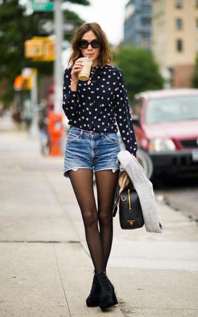 womens-fashion-ootd-black-fancy-tights