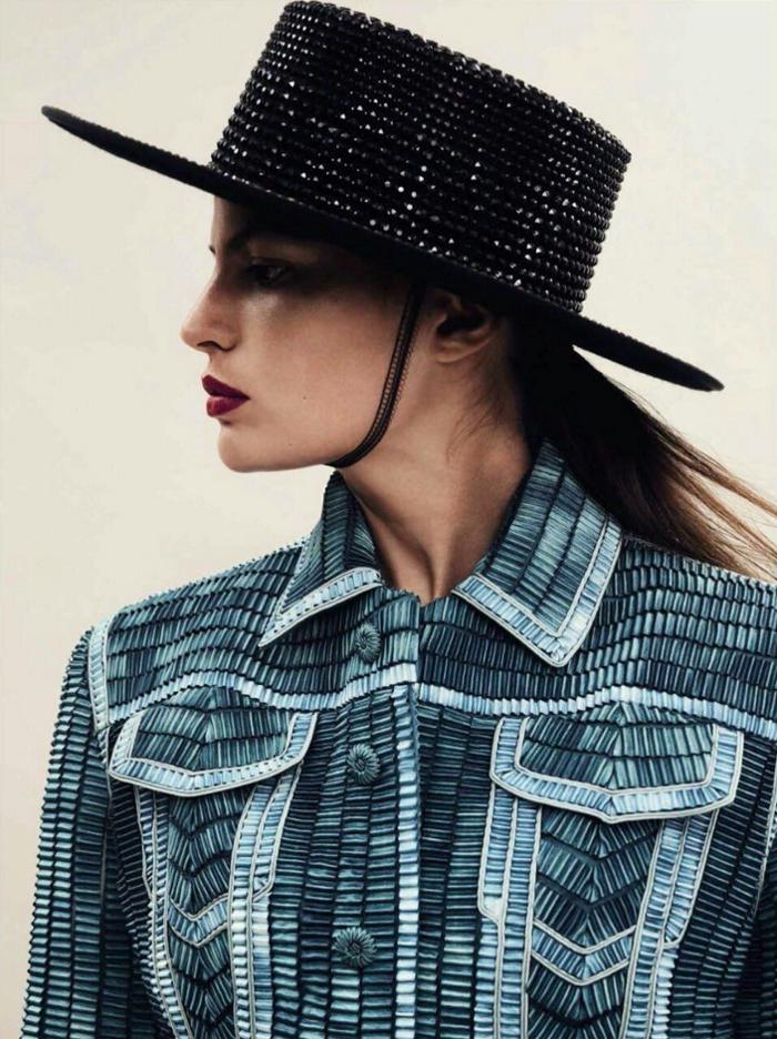 womens-fashion-photography-fedora-hats-studs-stripes