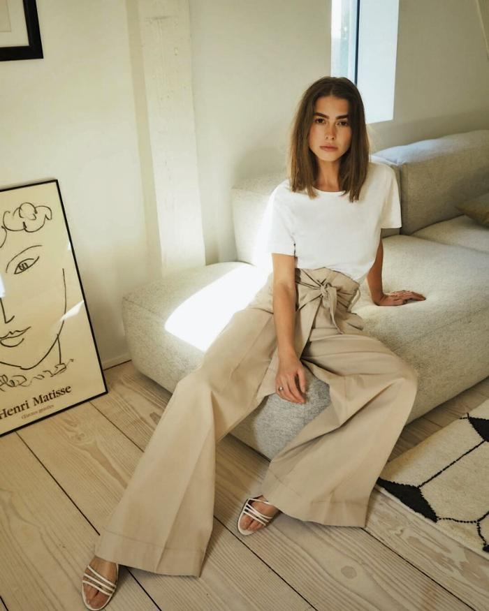 womens-style-inspiration-beige-flared-pants