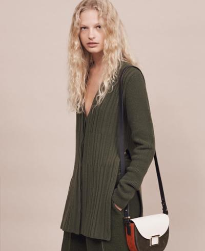 womens-fashion-look-green-leather-pleats