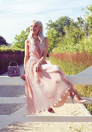 womens-style-inspiration-pink-long-skirts