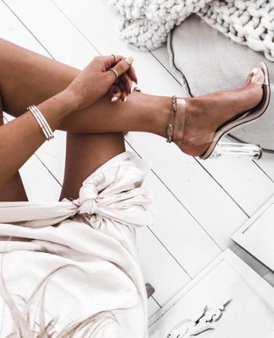 womens-fashion-look-silver-long-skirts