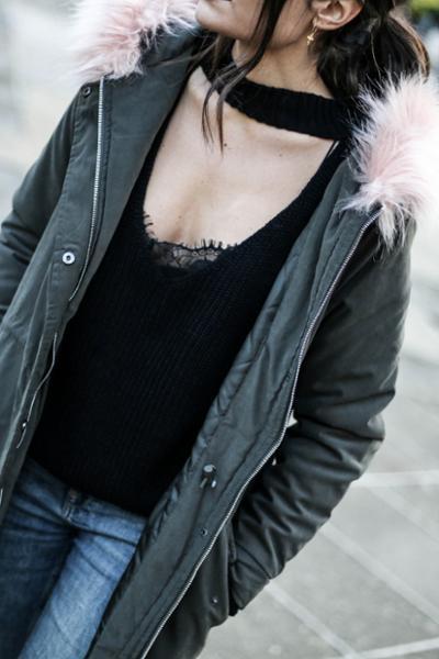 womens-fashion-ideas-pink-khaki-military