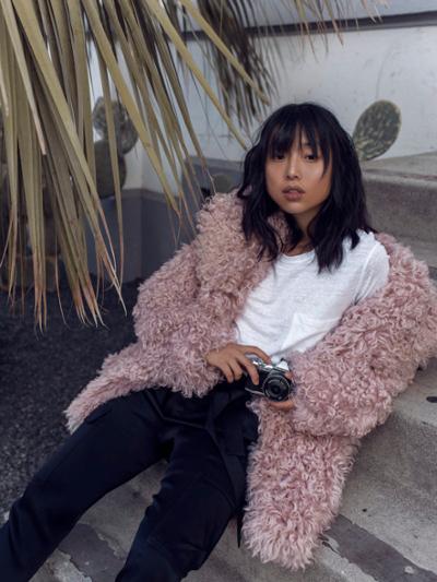 womens-fashion-inspiration-pink-puffer-coats