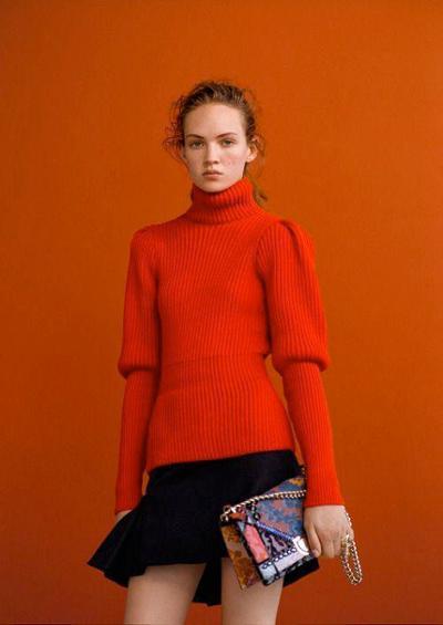 womens-fashion-look-orange-turtlenecks