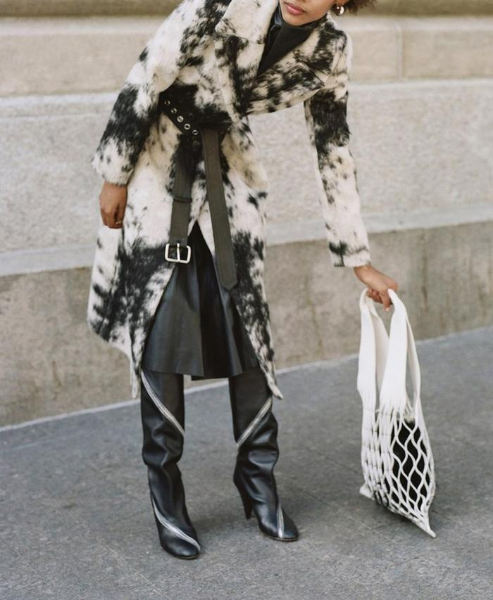 womens-fashion-ootd-winter-coats-fur-black-and-white-wide-belts