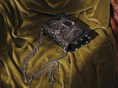 womens-fashion-inspiration-black-leather-studs-chain-bags