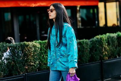 womens-fashion-outfit-florals-denim-turquoise-chic-sunglasses