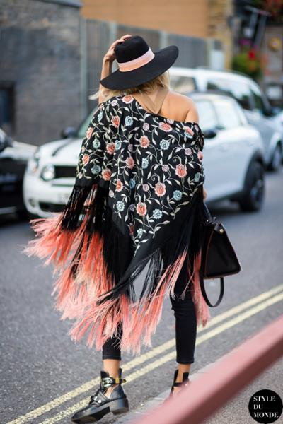 womens-fashion-ootd-florals-black-fringe-fedora-hats