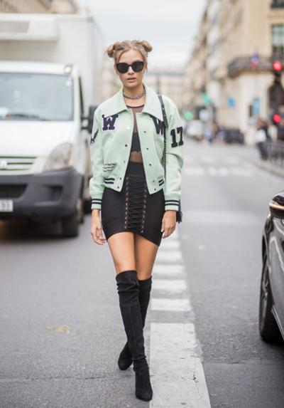womens-fashion-ootd-light-coats-multicolor-tall-boots