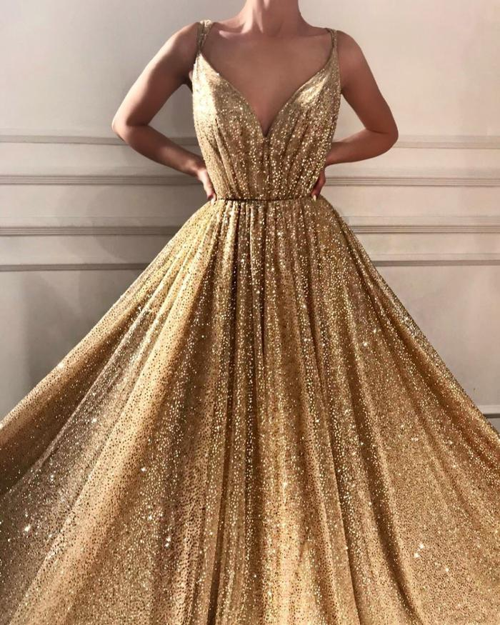 womens-fashion-look-gold-one-color-long-skirts