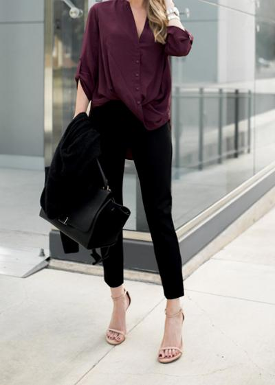 womens-fashion-inspiration-black-masculine-burgundy