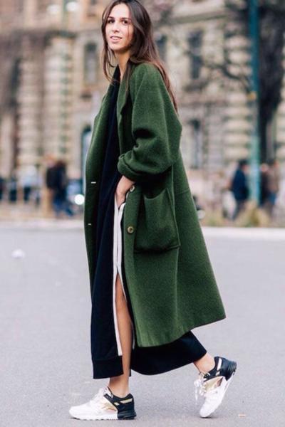 womens-style-inspiration-green-puffer-coats