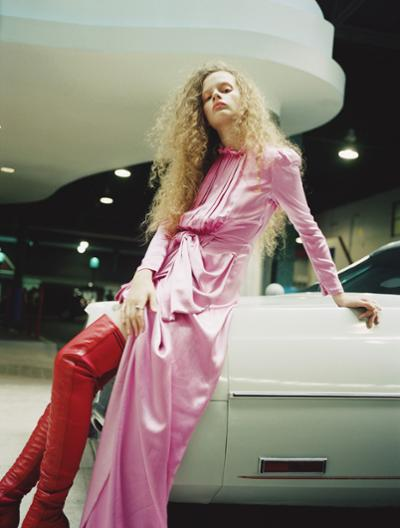 womens-fashion-photography-pink-red-leather-silk-and-satin
