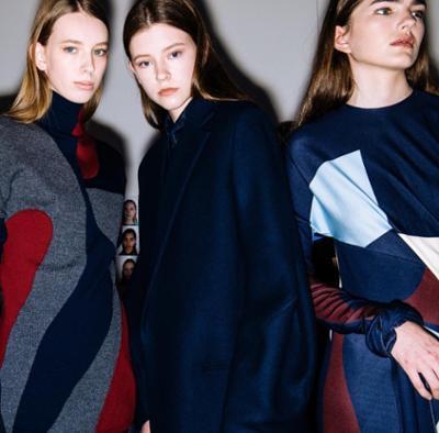 womens-fashion-photography-blue-prints-burgundy-turtlenecks