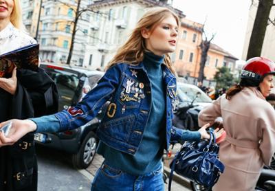 womens-fashion-ideas-denim-turtlenecks-patchwork