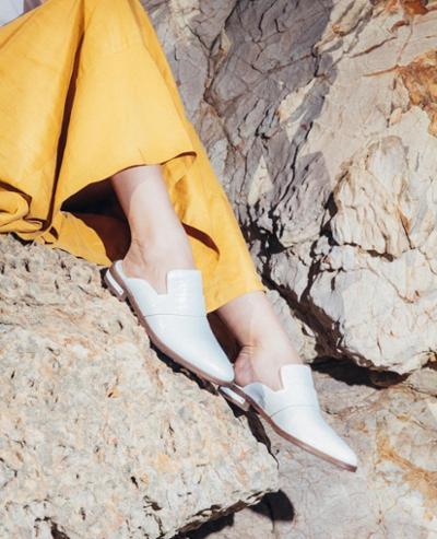 womens-fashion-ootd-yellow-white-leather