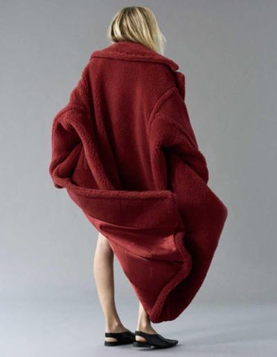 womens-fashion-inspiration-winter-coats-red-fuzzy