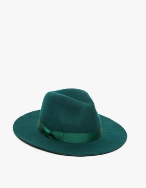 2d3eb6ef99 Women s hat green fedora hats from lack of color