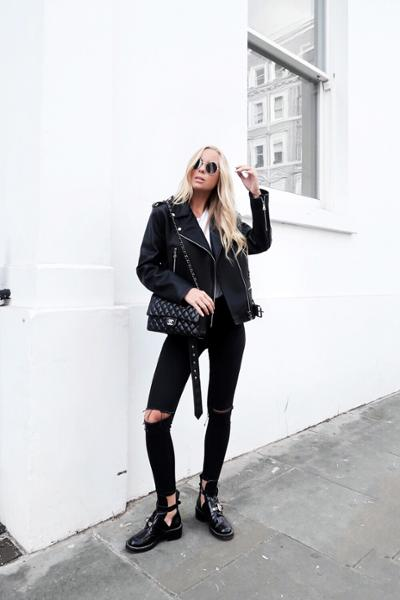 womens-fashion-look-leather-chain-bags-all-black-chic-sunglasses