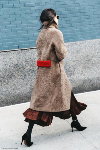 womens-fashion-ideas-red-beige-fuzzy