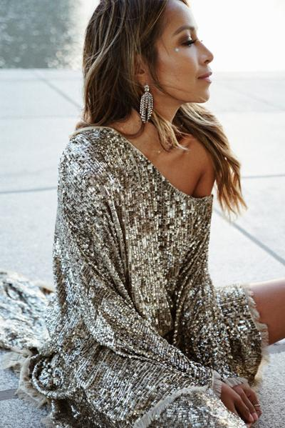 womens-style-inspiration-silver-sequins-big-jewelry