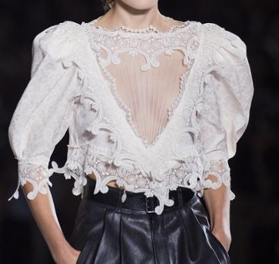womens-fashion-inspiration-leather-lace-embroidery-black-and-white