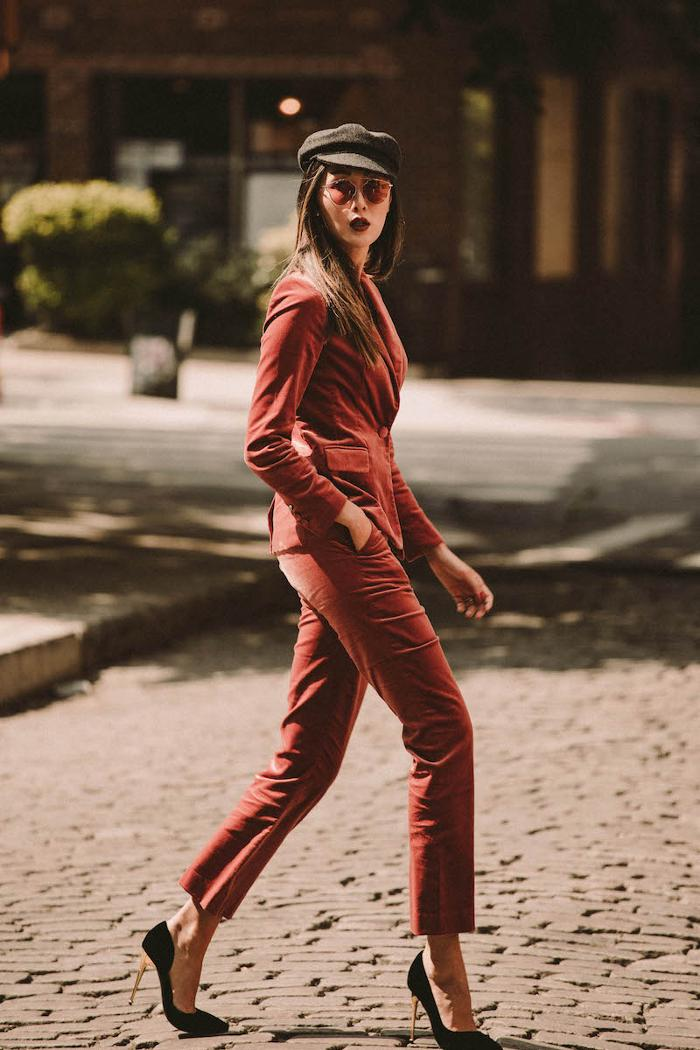womens-fashion-look-burgundy-velvet