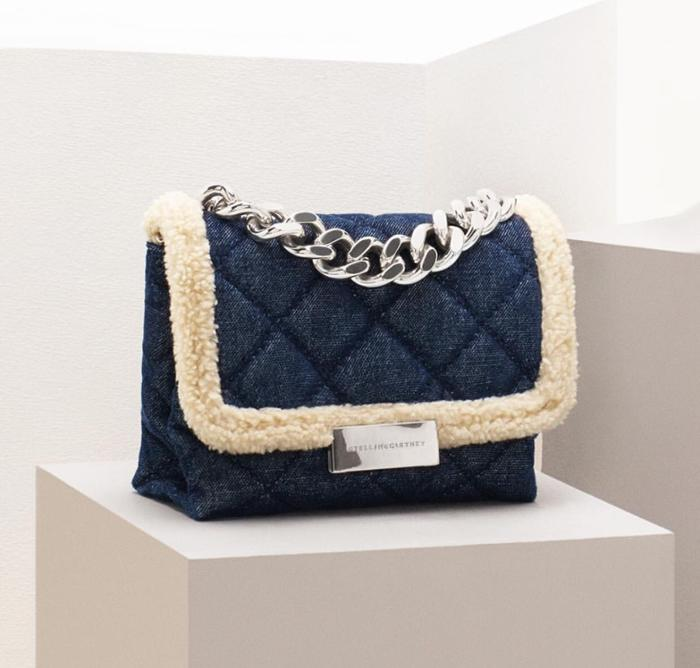 womens-style-inspiration-denim-quilted-chain-bags