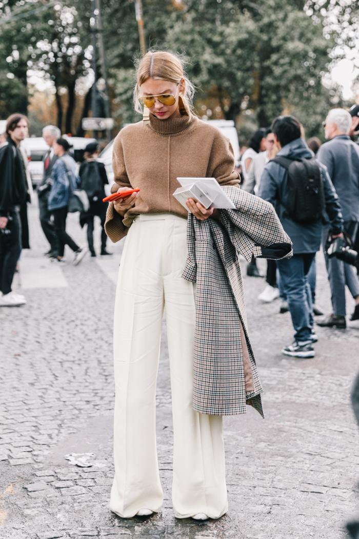 womens-fashion-outfit-seventies-turtlenecks-flared-pants-chic-sunglasses