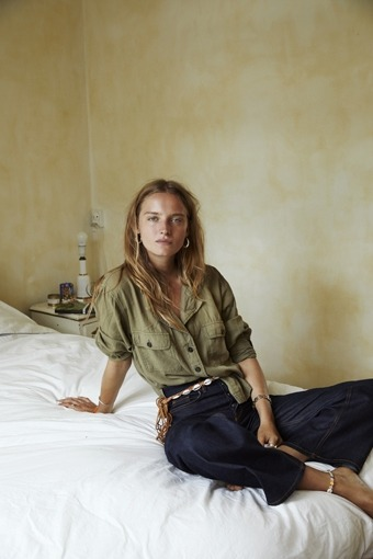 womens-fashion-inspiration-denim-masculine-khaki-flared-pants